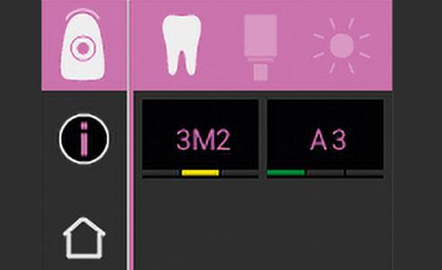 Abb. 2: In Sekundenschnelle wird das Ergebnis A3 auf dem Display angezeigt.