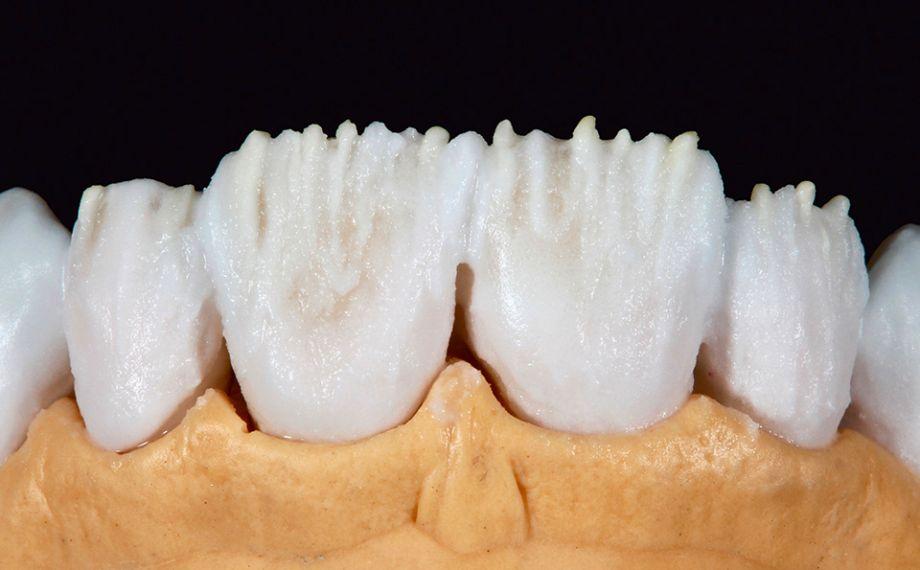 Fig. 5 I mammelloni sono stati ulteriormente accentuati con MAMELON saffron