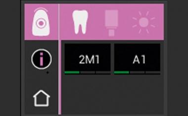 Abb. 2: Mit dem VITA Easyshade V wurde die Zahnfarbe präzise bestimmt.
